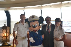 Disney Magic Crew and Mayor of Ponta Delgada